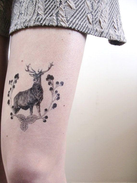 Flora & Fauna Temporary Tattoos