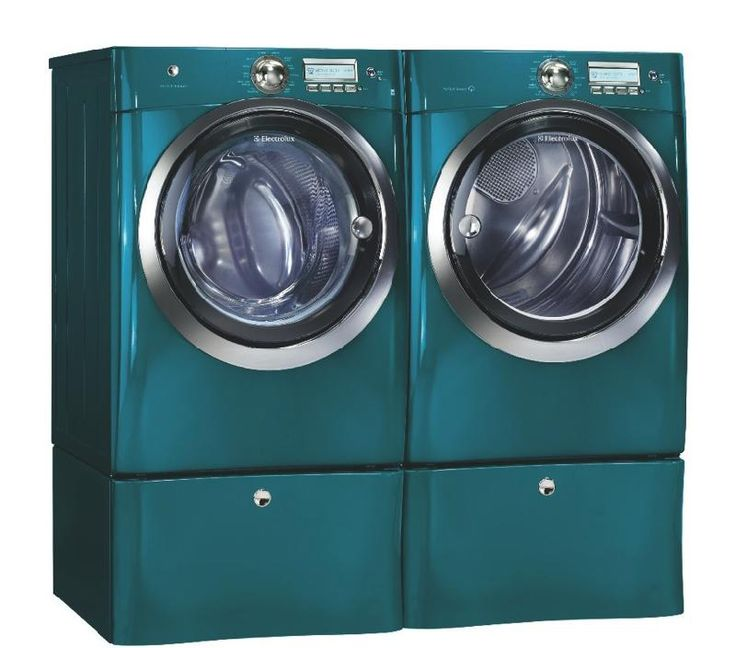 Laundry Room Design With Pedestals