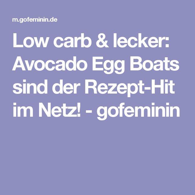 Low carb & lecker: Avocado Egg Boats sind der Rezept-Hit im Netz! - gofeminin