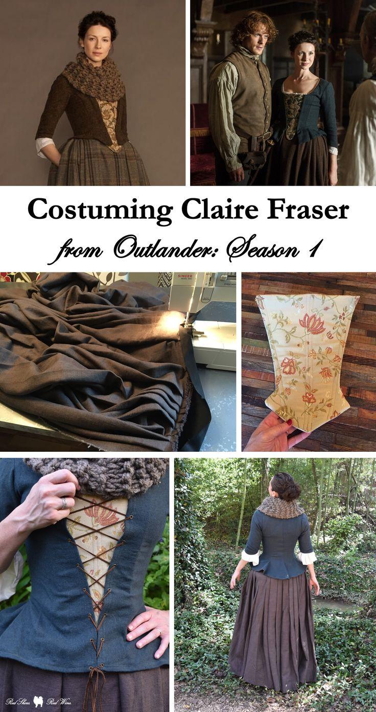 Costuming Claire from Outlander: Season 1