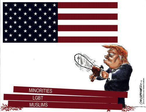 Gary Markstein Editorial Cartoon, November 22, 2016     on GoComics.com