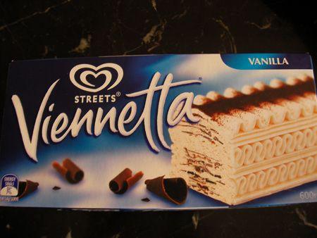 Vienetta 'classy' ice cream brick