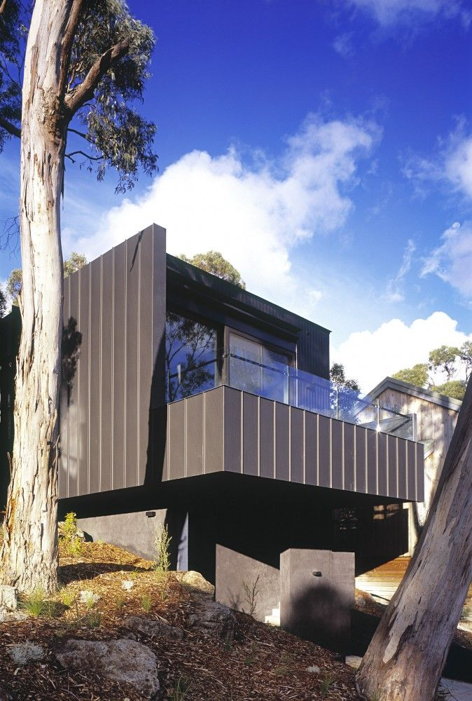 TreeHouse / FMD Architects  External cladding is gorgeous