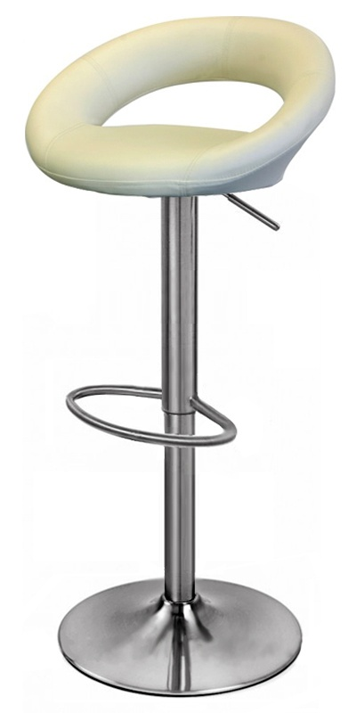 The Sorrento Cream Brushed Chrome Bar Stool Is One Of Our Best Sellers.  This Stool Offers A Comfortable Padded Seat Top With A Sturdy Brushed  Chrome Gas ...
