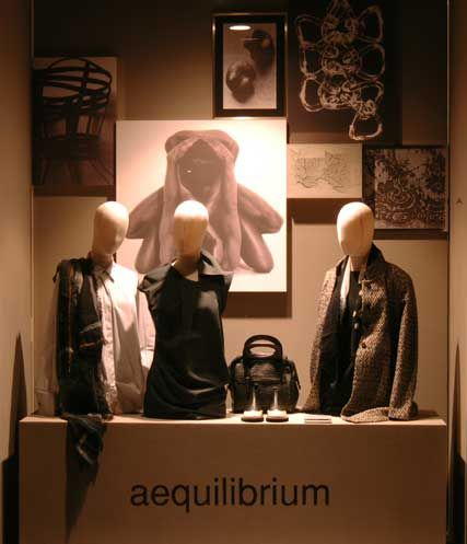 Aequilibrium - new window Fall/Winter 2013-14 www.lidiacorsoitalia82.it