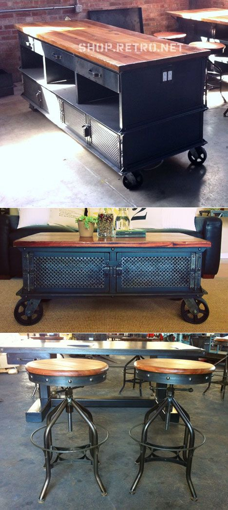 Core77 / Greg Hankerson's Vintage Industrial: Turning Solid Furniture into a Solid Business