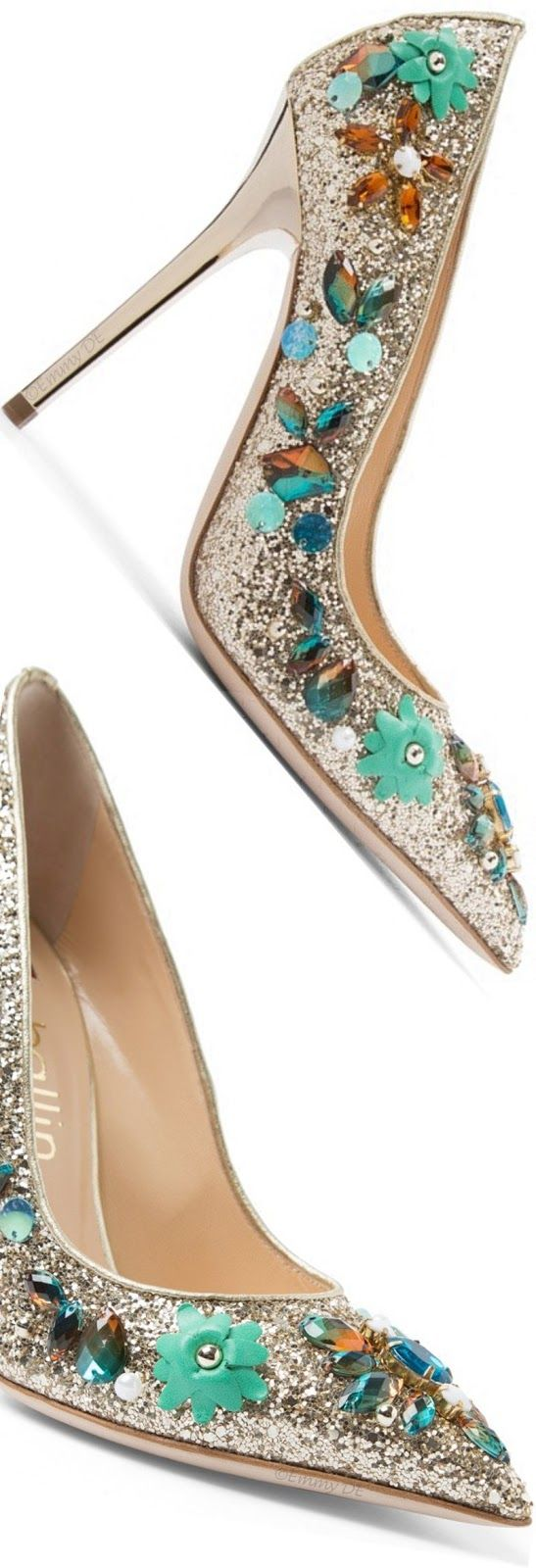 Brilliant Luxury ♦ Ballin 'Iris Blue' Pumps