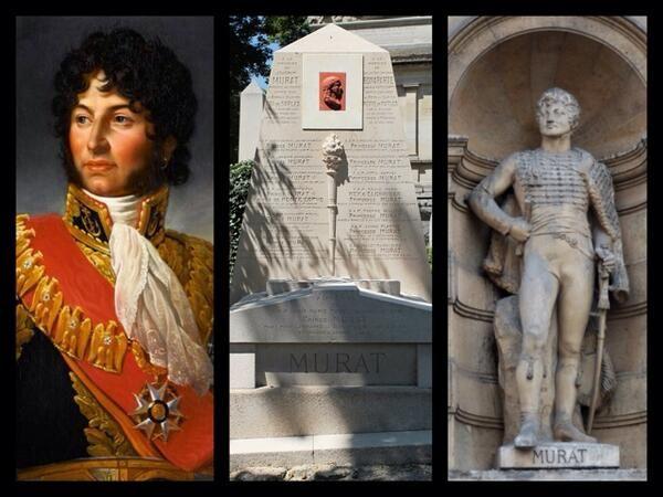 ⌛️ 13 octobre 1815 : Mort de Joachim Murat à 48 ans, Maréchal d'Empire, roi de Naples. Beau-frère de Napoléon Ier.