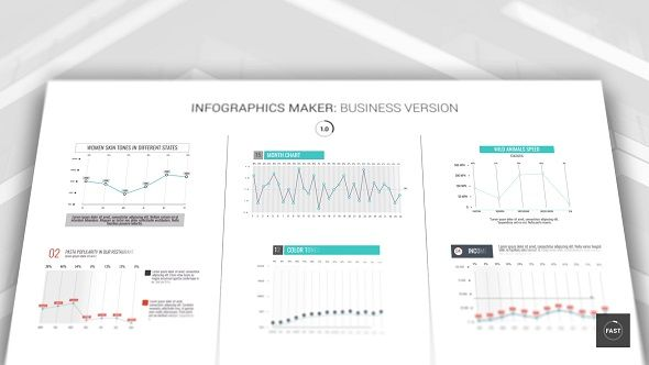 Infographics Maker by A_Motion Hello, dear colleagues! By purchasing this project you get:Infographic Maker: Business Version. FullHD resolutions. Full Color Con