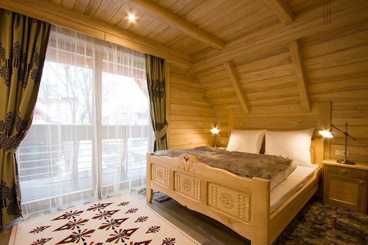 sypialnia w naszej najnowszej zakopiańskiej willi