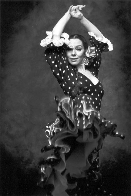 Ana Montes Flamenco dancer