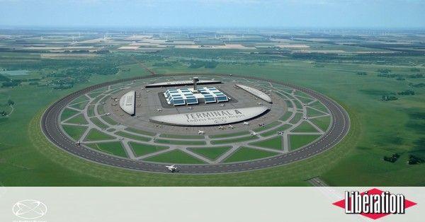 Fini l'aéroport traditionnel et ses pistes droites. Avec «la piste sans fin», c'est sur un cercle parfait que pourraient circuler les avions. Présenté comme réaliste, le projet est en pause depuis2014. Par manque de financement.