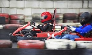 Groupon - Go Kart Races and Mini-Golf for 5, or Go-Kart Races for 2 at Cooter's Place (Up to 51% Off). 3 Options Available. in Gatlinburg. Groupon deal price: $20