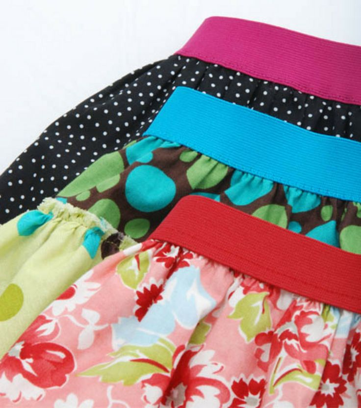 #Sew a skirt with @Danielle Lampert Ritzman Sewing #elastic  -- fun & easy to DIY!