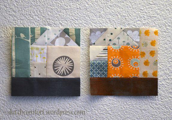 lovely tangram houses by Dutch Comfort