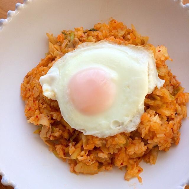 夫のお昼ご飯に - 16件のもぐもぐ - 納豆キムチチャーハン by mmmoki