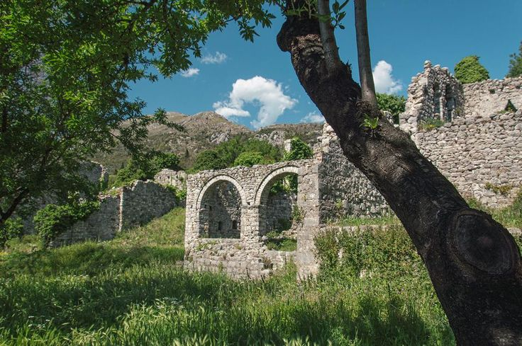 Старый Бар. Черногория. Old Bar. Montenegro.