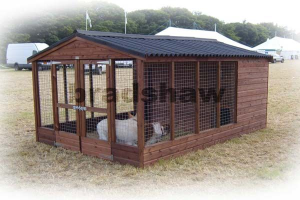 How to Build a Dog Kennel Regular | Kennel ideas ...