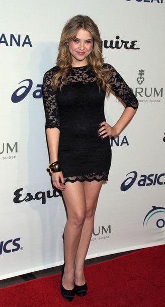 Awesome Lace Dress Ashleybenson Lacedress Blackdress In