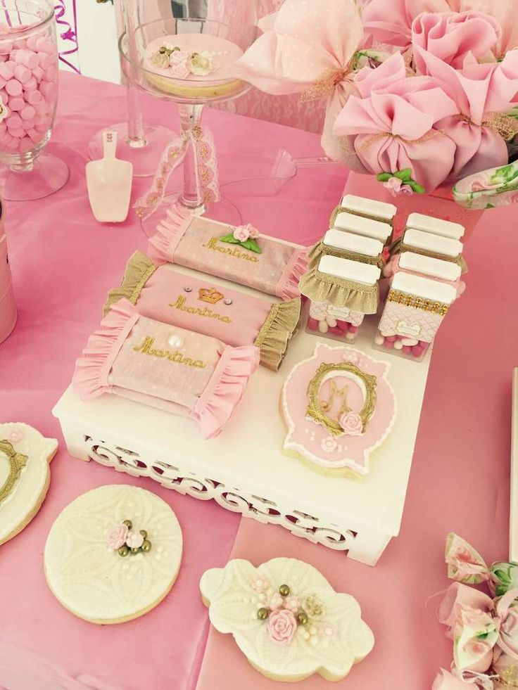 shabby chic vintage birthday party ideas pink sweets. Black Bedroom Furniture Sets. Home Design Ideas