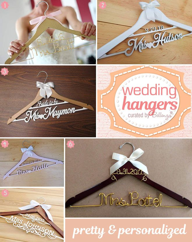 Bridal Gift Idea A Personalized Mrs Hanger For Her Wedding Dress Creative And Fun Wedding Ideas Made Simple Wedding Hangers Personalized Custom Wedding Hangers Diy Wedding Hangers
