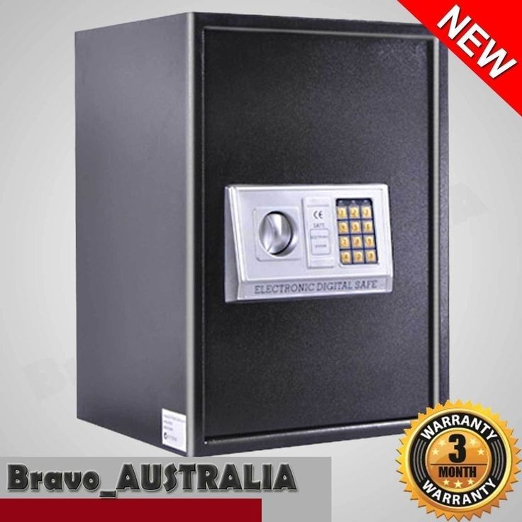Electronic Lock Security Safe Box Keypad LCD Personal Home Office Storage