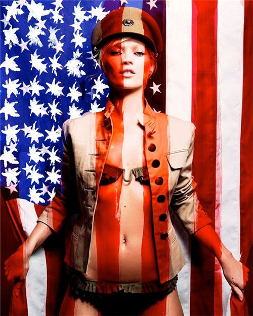kate moss by craig mcdeanHot Shots, Craig Mcdean, Red White Blue, Planets Blue, Katemoss, Fashion Photography, American Dreams, Craigmcdean, Kate Moss