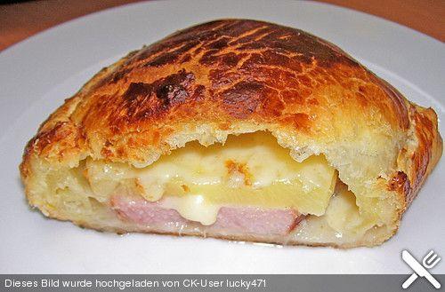 Kassler in Blätterteig mit Käse (Rezept mit Bild)   Chefkoch.de