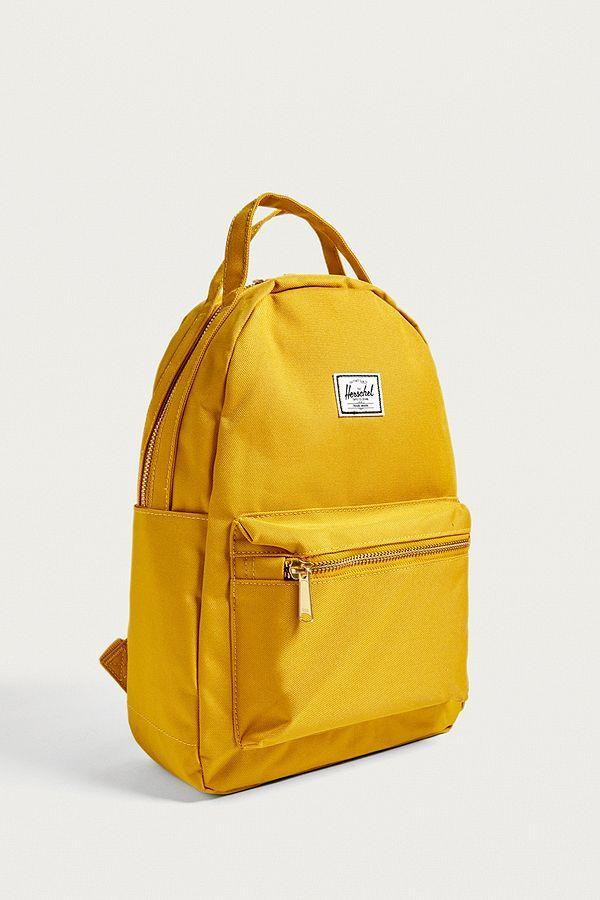 18725b0b8aa Slide View  4  Herschel Supply Co. Nova XS Yellow Backpack ...