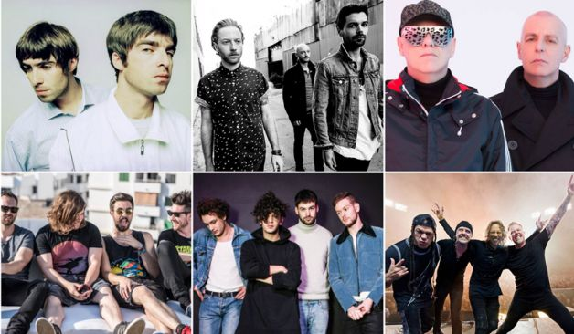 Oasis, Metallica, Pet Shop Boys, Biffy Clyro, The 1975, Bastille y Adele ganaron premios NME