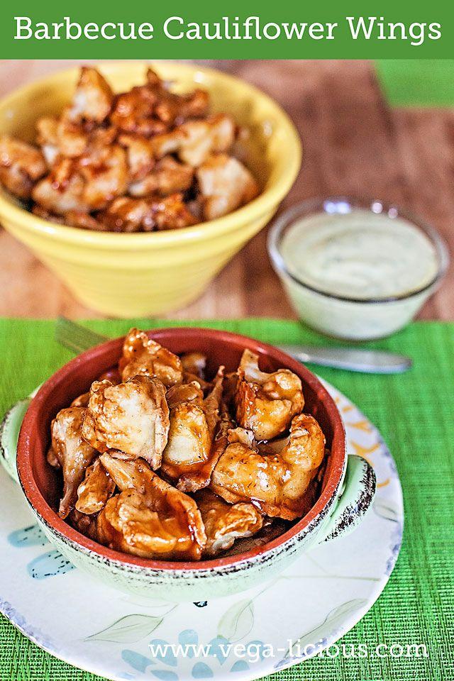 barbecue cauliflower wings (use a different sauce, lemon juice, cauliflower)