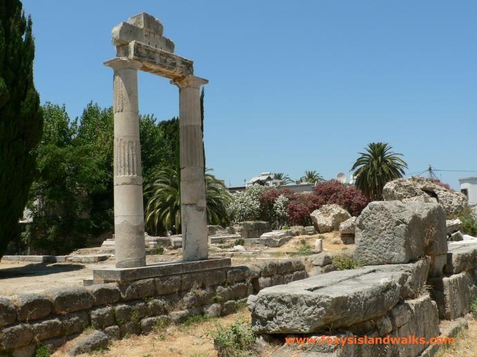 Ancient Agora - Kos Island