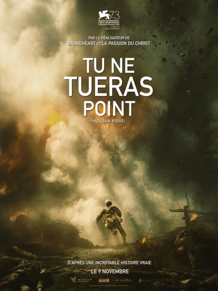 Mel Gibson et Spider Man au cinéma avec Tu Ne Tueras Point
