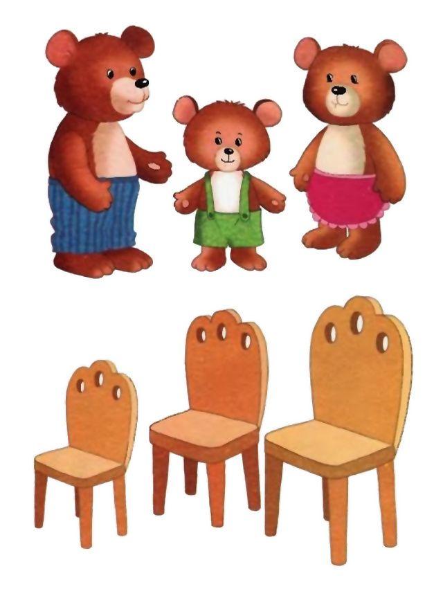 Конспект игрового занятия для ясельной группы детского сада (3-й год жизни), тема: «Три медведя»