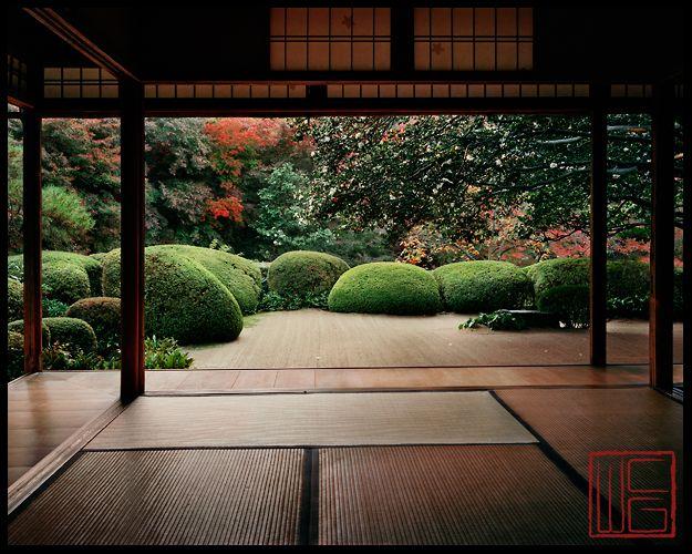 Shisendo, Kyoto, Japan: photo by William Corey