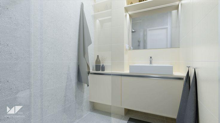 bright, modern bathroom   bathroom WA, Slovakia   MP STUDIO
