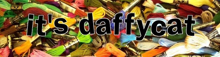It's Daffycat- cross stitch blog