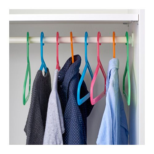 BAGIS Children's coat-hanger, assorted colors assorted colors -
