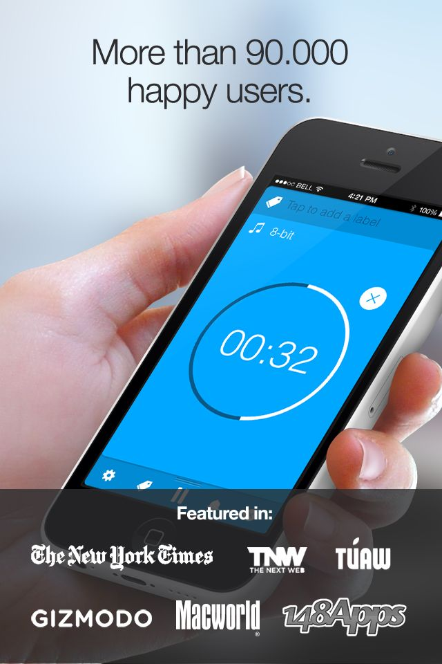 Timeless Timer: More than 90.000 happy users. http://timeless-app.com