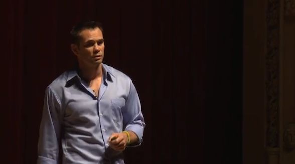 """There's a potential loser in each and every one of you."" Rich Franklin wants you to find your inner loser in order to be your best self."