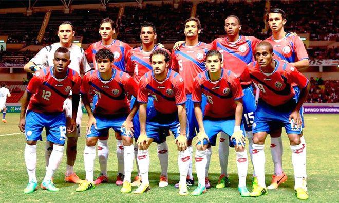 Mundial de Fútbol de Brasil 2014 - Costa Rica