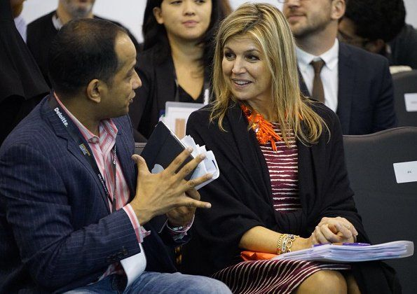 ♥•✿•QueenMaxima•✿•♥...On November 16, 2017, Queen Maxima of The Netherlands attended the FinTech Festival in Singapore.