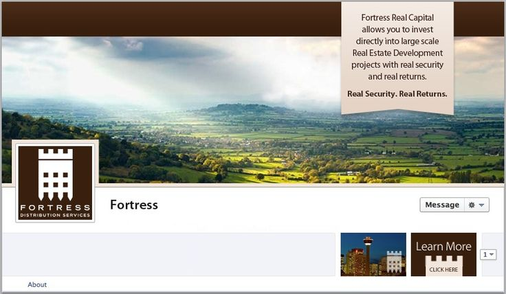 Fortress Facebook Cover - by TweetPages.com #TweetPages