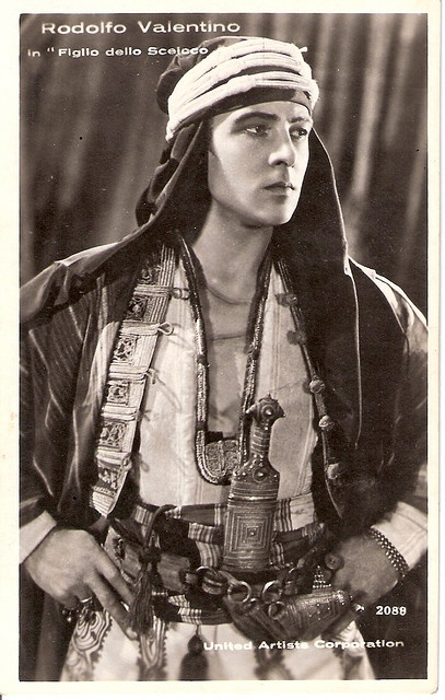 Rudolph Valentino in The Son of the Sheik (1926) My favorite old movie. My favorite actor...Possibly my soul mate who I never got to meet ='(