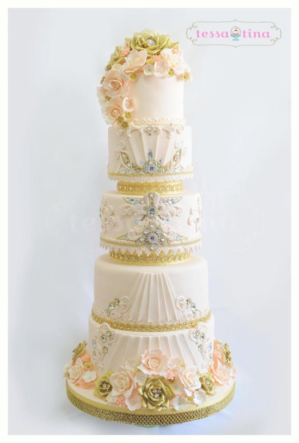 176 best Over the Top Wedding Cakes images on Pinterest | Cake ...