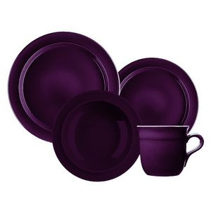 Emile Henry Dinnerware. This color is beautiful I mixed it with sand aqua graphite and this lovely eggplant. Works beautiful together |Pinned from PinTo for iPad|