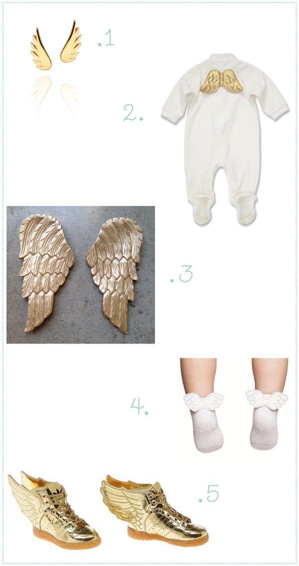Nós somos a favor de dar asas para a criança voar e ficar na moda! Em diferentes tamanhos e estilos, as asas podem aparecer em roupinhas, acessórios e até
