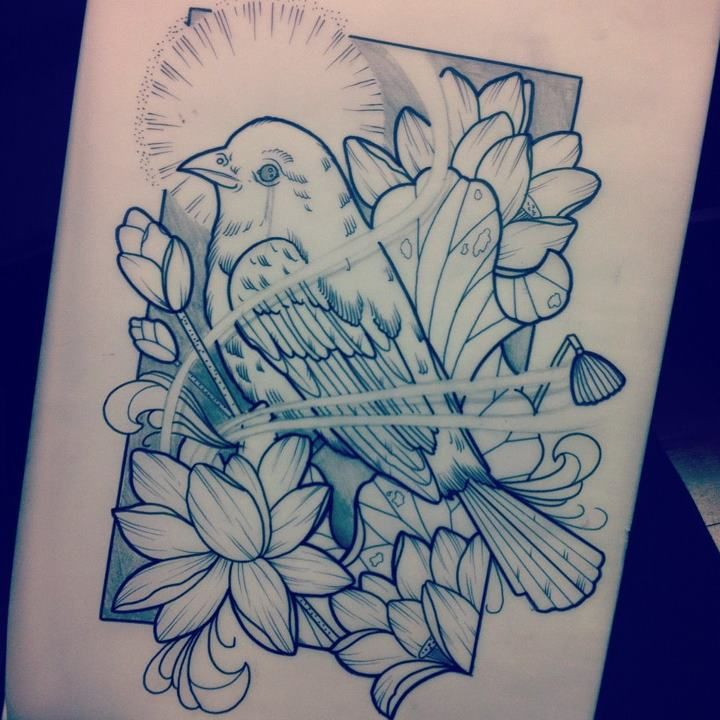 597 best Tattoos - Birds images on Pinterest | Tattoo bird, Bird ...
