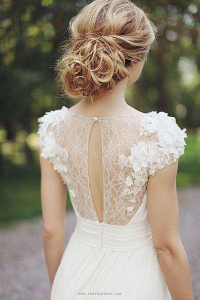 Adore the cut and lace. Not loving the flower bits,would keep it all lace