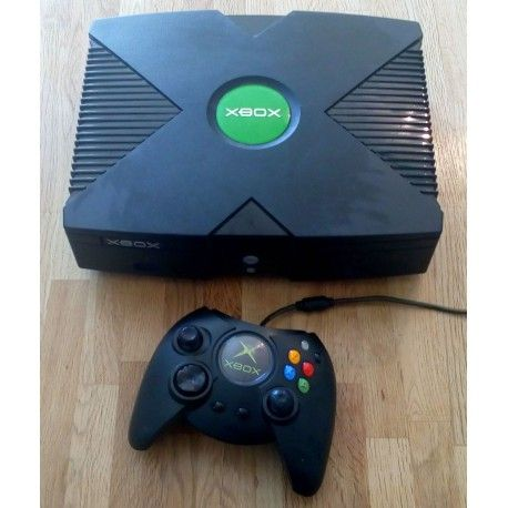 Xbox: Komplett konsoll med spill